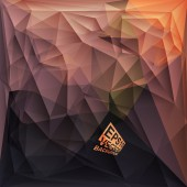Multicolor Design Templates. Geometric Triangular Abstract Modern Vector Background.  — Vettoriale Stock