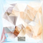 Multicolor ( Brown, Gray, Blue ) Design Templates. Geometric Triangular Abstract Modern Vector Background.  — Vettoriale Stock