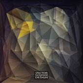 Multicolor Design Templates. Geometric Triangular Abstract Moder — Stockvektor