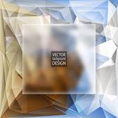 Modelli di design multicolor. Priorità bassa geometrica triangolare vettoriale astratto moderno. — Vettoriale Stock