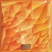 Priorità bassa geometrica triangolare vettoriale astratto moderno. — Vettoriale Stock