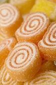 Marmalade in sugar — Stock Photo