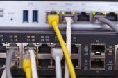 Netwerkkabels — Stockfoto