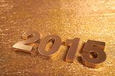 2015 nieuwjaar teken — Stockfoto