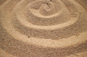 Sand waves background — Stock Photo