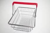 Wire metal basket — Stock Photo