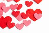 Calendar to Valentines day — Stock Photo