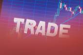 Three-dimensional word trade — Stock Photo