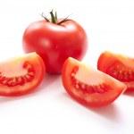 Fresh tomatoes isolated — Stock Photo #67787171