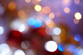 Background with bokeh lights — Stock Photo