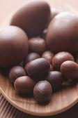 Chocolade paaseieren — Stockfoto