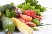 Various fresh vegetables — Stock Photo