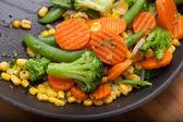 Tasty fried vegetables — Stock Photo
