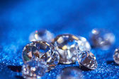 Beautiful Diamonds closeup — Stock Photo