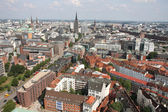 View on Hamburg from St. Michael's Church, Hamburg — Stock Photo
