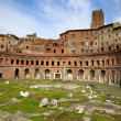 Trajan's Market (Mercati Traianei) in Rome, Italy — Stock Photo #76283189