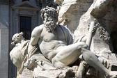 Piazza del Popolo and Flaminio Obelisk in Rome, Italy — ストック写真