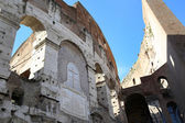 Fountain of Neptune in Piazza del Popolo, Rome, Italy — Stock Photo
