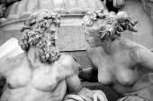 Pallas-Athene-Brunnen-Brunnen, österreichische Parlament in Wien, A — Stockfoto