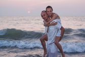 Love story on the beach — Photo