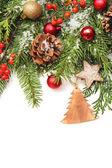 зимой или рождественский фон — Стоковое фото