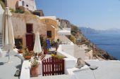 Santorini - traditional architecture — Stock Photo