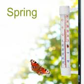 Spring  thermometer — Stock Photo