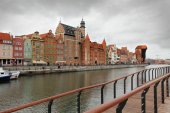 City center of Gdansk, Poland — Stock Photo