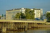 Saint-Petersburg, 2-nd Elagin bridge — Stock Photo
