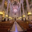 Palma cathedral inside — Stock Photo #57739421