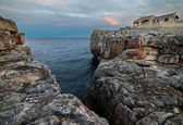 Rock sea coastline — Stock Photo