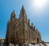 Cathedral Palma de Mallorca — Stock Photo