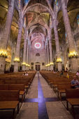 Palma cathedral inside — Stock Photo