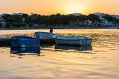 Marina sunset — Stock Photo