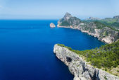 Formentor cape in summer — Stock Photo
