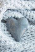 Love stone. Heart shape — Stock Photo