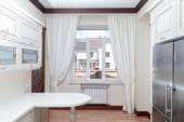 Modern gourmet kitchen interior — Stock Photo