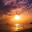 Sunset over the beach — Stock Photo #68231243