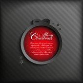 Fondo de Navidad vector — Vector de stock
