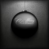 Noel kartı şablonu — Stok Vektör