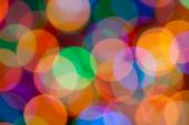 Blurring Abstract Circular Lights Bokeh  colour background — Stock Photo