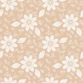 Kwiaty bezszwowe tło — Wektor stockowy