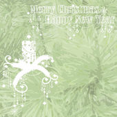 Vánoce a šťastný nový rok — Stock vektor