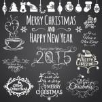 Merry Christmas elements — Vettoriale Stock  #59896371