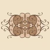 Calligraphic design element, — Stock Vector