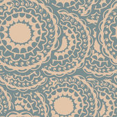 Seamless round grey pattern — Stockvektor