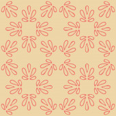 Seamless with vintage pattern — Vecteur