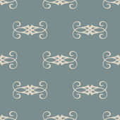 Seamless with vintage pattern — Stock Vector