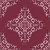 Vintage floral pattern. — Stock Vector