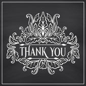 Gracias Letras — Vector de stock